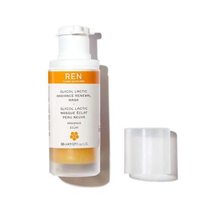 Восстанавливающая Маска для Сияния Кожи с Гликолем и Молочной Кислотой REN Glycolactic Radiance Renewal Mask 50 мл