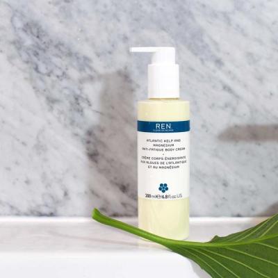 Крем для Тела Снимающий Усталость Ren Atlantic Kelp and Magnesium Anti-Fatigue Body Cream 200 мл