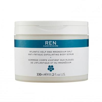Скраб для Тела с Экстрактом Атлантических Водорослей и Магнезией Ren Atlantic Kelp And Magnesium Salt Anti-fatigue Exfoliating Body Scrub 330 мл