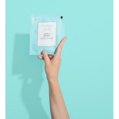Очищающая Тканевая Маска Rare Paris Carbone Glacé Purifying Face Mask 1 шт