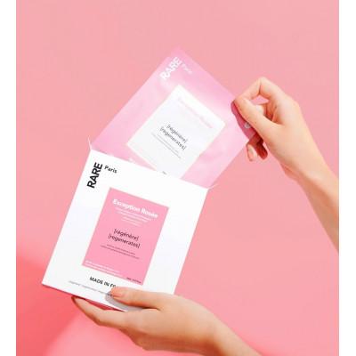 Восстанавливающая Тканевая Маска Rare Paris Exception Rosée Regenerating Face Mask Box 5 шт