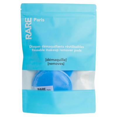 Многоразовые Диски для Снятия Макияжа Rare Paris Carbone Glace Reusable Makeup Remover Pads 3 шт