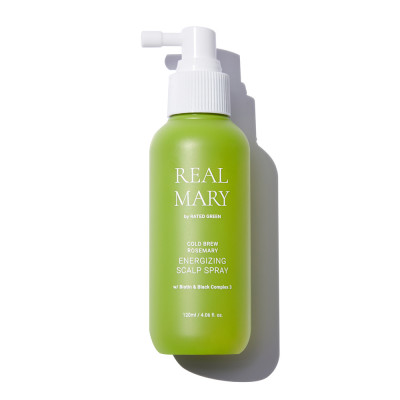 Энергетический Спрей для Кожи Головы с Розмарином Rated Green Real Mary Energizing Scalp Spray 120 мл