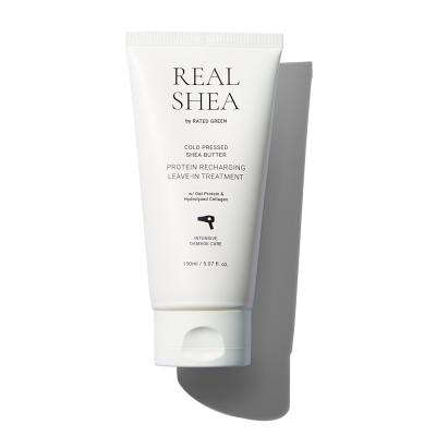 Восстанавливающий Термозащитный Крем для Волос Rated Green Real Shea Protein Recharging Leave-In Treatment 150 мл