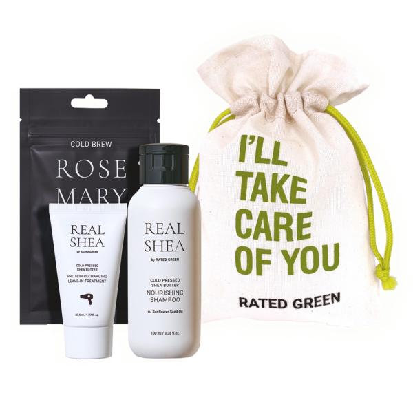 Мини-Набор Rated Green Real Shea Mini Kit ROSEMARY