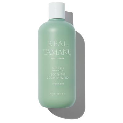 Успокаивающий Шампунь с Маслом Таману Rated Green Real Tamanu Cold Pressed Tamanu Oil Soothing Scalp Shampoo 400 мл