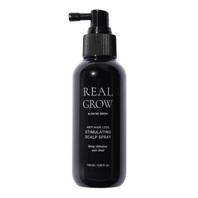 Стимулирующий Спрей от Выпадения Волос Rated Green Real Grow Anti-Hair Loss Stimulating Scalp Spray 120 мл