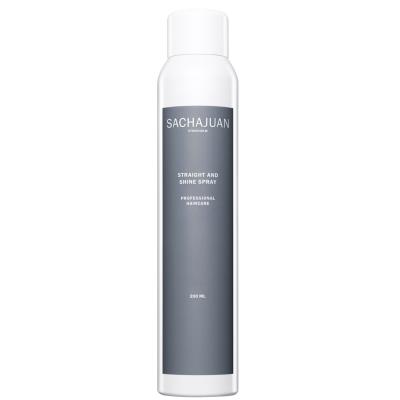 Термо-Спрей для Сияния и Создания Текстуры, Защита Волос от Высоких Температур Sachajuan Straight and Shine Spray 200 мл