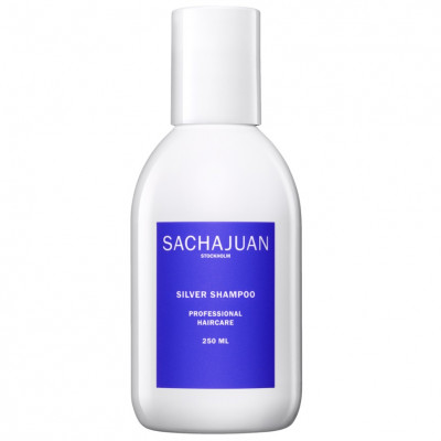 Шампунь для Нейтрализации Жёлтого Пигмента и Защиты Холодных Оттенков Блонда Sachajuan Silver Shampoo 250 мл