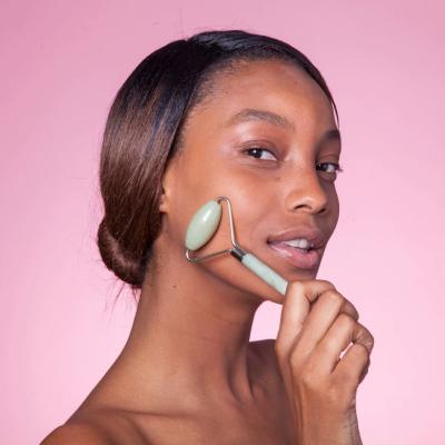Роллер для Лица с Кристаллом Нефрита Skin Gym Jade Facial Roller