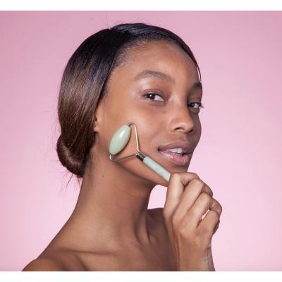 Набор из Нефрита в Который Входит Роллер для Лица и Скребок Гуаша Skin Gym Jade Workout Set
