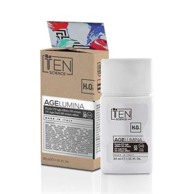 ВВ Крем-Флюид с Тоном и Защитным Фактором SPF 30 Ten Age Lumina Fluid UV Shield BB Cream Effect 30 мл
