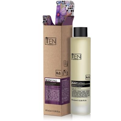 Лимитированное Шёлковое Масло для Лица, Тела и Волос TEN Body Space Gold Edition Multi Function Silky Oil 100 мл