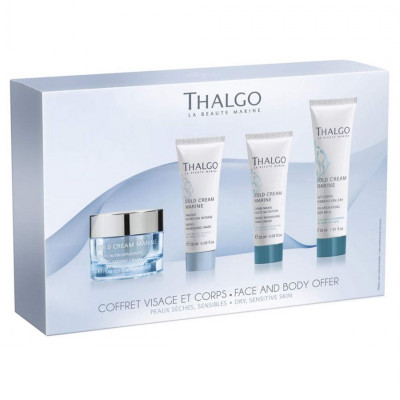 Набор для Путешествий Thalgo Cold Cream Marine 15-day Programme Face & Body