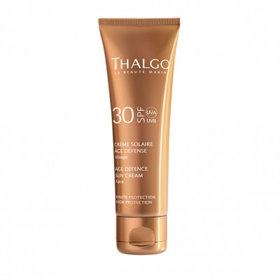 Омолаживающий Защитный Крем SPF30 Thalgo Age Defence Sun Screen Cream 50 мл