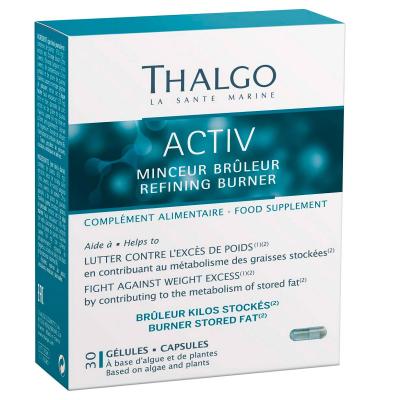 Актив Похудение Сжигание Thalgo Activ Refining Burner 30 капсул