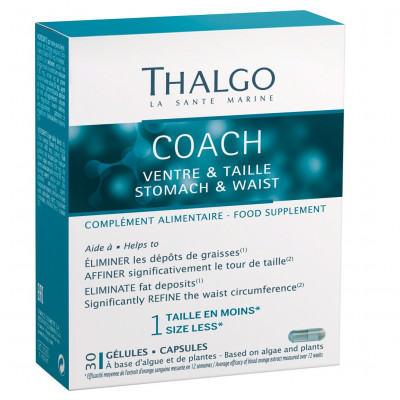 Коуч Живот и Талия Thalgo Coach Stomach & Waist 30 капсул