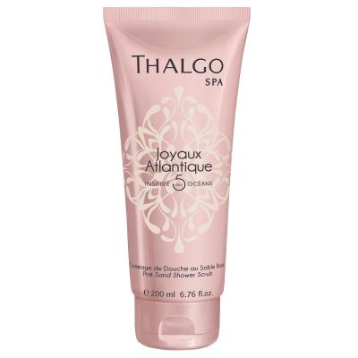 """Гель-Скраб для Душа """"Розовый Песок"""" Thalgo Atlantique Pink Sand Shower Scrub 200 мл"""