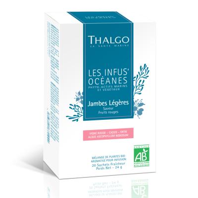"""Травяной Настой """"Океан Лёгкость Ног"""" Thalgo Organic Infusoceanes Light Legs 20 шт"""