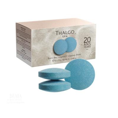 Шипучие Таблетки для Ванн Thalgo Lagoon Bath 6x25 г