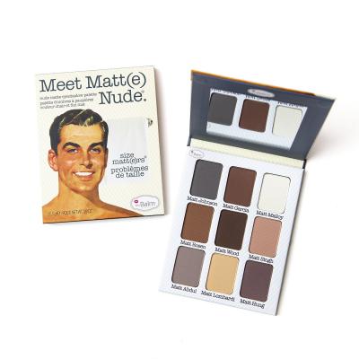 Палетка Матовых Теней для Глаз theBalm Meet Matte Nude Size Matters 24.5 г