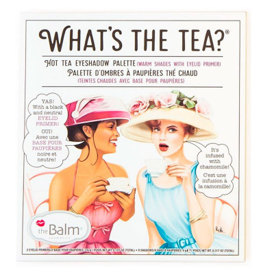 Палетка Теней для Глаз theBalm What's the Tea? Hot Tea