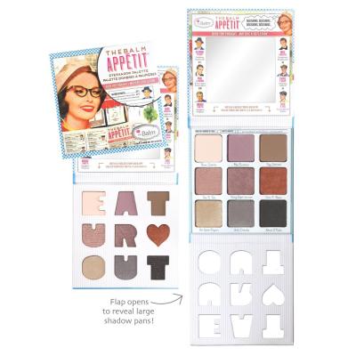 Палетка Теней theBalm Appétit® Eyeshadow Palette 13.5 г