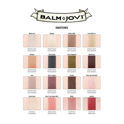 Палетка Теней theBalm Balm Jovi® Rockstar Face Palette 21.6 г