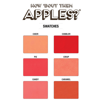 Палетка theBalm How 'Bout Them Apples?® Lip and Cheek Cream Palette 20 г
