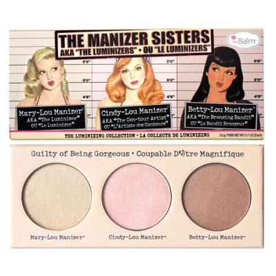 "Набор Хайлайтеров theBalm The Manizers Sisters® AKA the ""Luminizers"" по 3 г"
