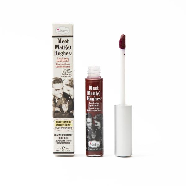 Жидкая Матовая Помада theBalm Meet Matt(e) Hughes® Long Lasting Liquid Lipstick - Adoring 7.4 мл