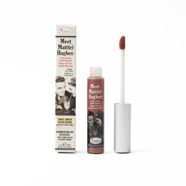 Жидкая Матовая Помада theBalm Meet Matt(e) Hughes® Long Lasting Liquid Lipstick - Committed 7.4 мл
