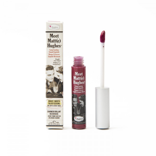 Жидкая Матовая Помада theBalm Meet Matt(e) Hughes® Long Lasting Liquid Lipstick - Dedicated 7.4 мл