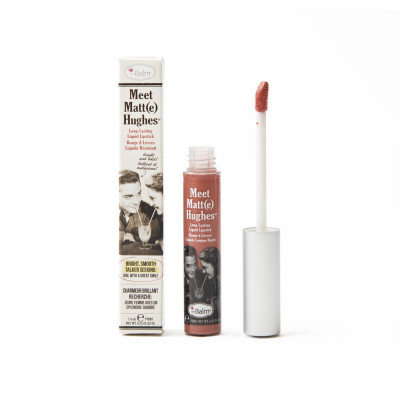 Жидкая Матовая Помада theBalm Meet Matt(e) Hughes® Long Lasting Liquid Lipstick - Doting 7.4 мл
