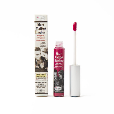 Жидкая Матовая Помада theBalm Meet Matt(e) Hughes® Long Lasting Liquid Lipstick - Sentimental 7.4 мл