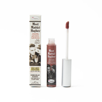 Жидкая Матовая Помада theBalm Meet Matt(e) Hughes® Long Lasting Liquid Lipstick - Sincere 7.4 мл