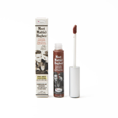 Жидкая Матовая Помада theBalm Meet Matt(e) Hughes® Long Lasting Liquid Lipstick - Trustworthy 7.4 мл