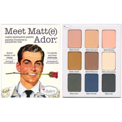 Палетка Теней theBalm Meet Matt(e) Ador.® Matte Eyeshadow Palette 21.6 г