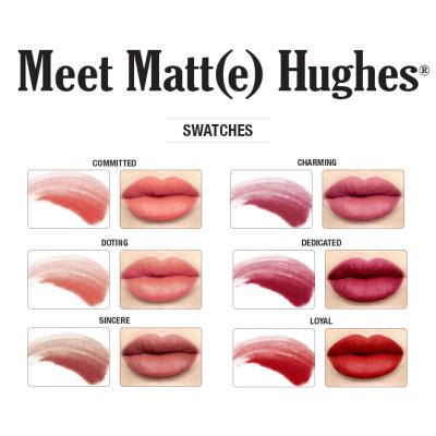 Набор Мини-Помад для Губ theBalm Meet Matte Hughes 6 Liquid Lipsticks Mini Kit Vol. 1
