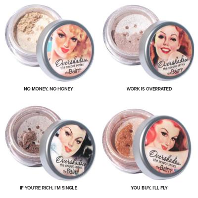 Мерцающие Тени-Хайлайтер для Век theBalm Overshadows® Shimmering All-Mineral Eyeshadow 0.57 г