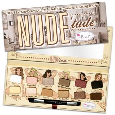 Палетка Теней theBalm Palettes Nude'Tude® Palette 12 теней - 11 г