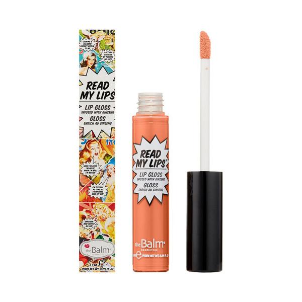 Жидкая Помада для Губ theBalm Read My Lips® Lip Gloss Infused With Ginseng 6.5 мл