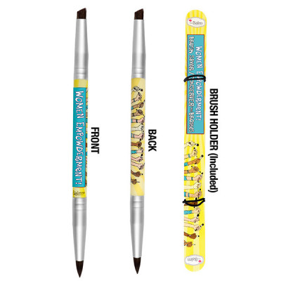 Кисть для Бровей и Подводки theBalm Women Empowderment Double-Ended Eyebrow/Eyeliner Brush