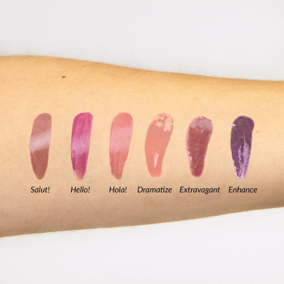 Набор Мини-Блесков для Губ theBalm Mini Lip Gloss Kit Vol. 1 - 7.2 мл
