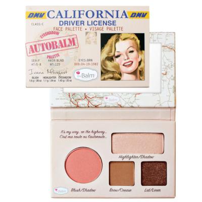 Палетка theBalm Mini Palettes AutoBalm California®  4.15 г