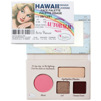 Палетка theBalm Mini Palettes AutoBalm Hawaii®  4.15 г