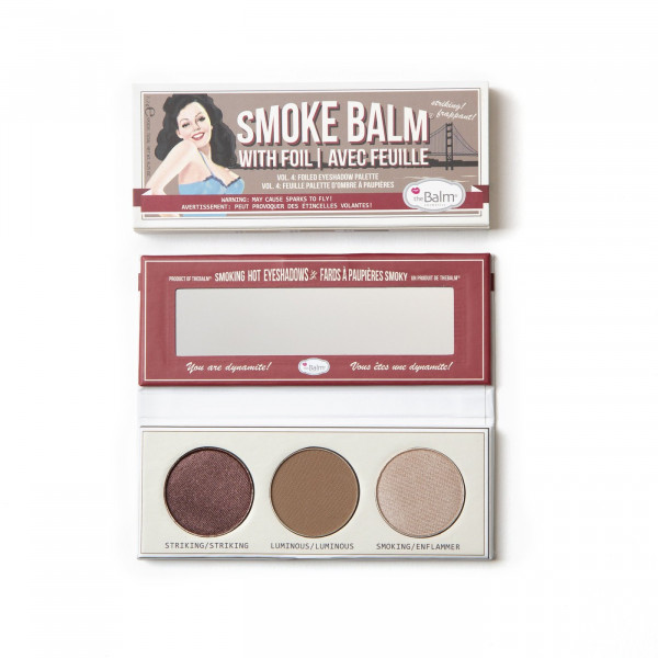 Палетка Теней theBalm Mini Palettes SmokeBalm Vol. 4 - 7.2 г