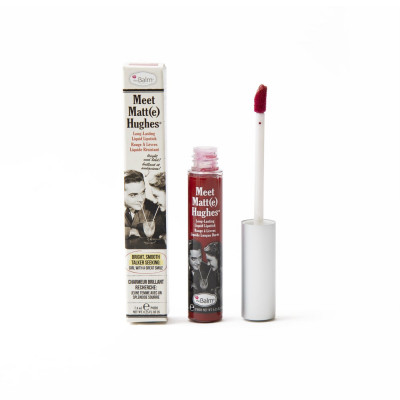 Жидкая Матовая Помада theBalm MEET MATT(E) HUGHES® Long Lasting Liquid Lipstick - Loyal 7.4 мл
