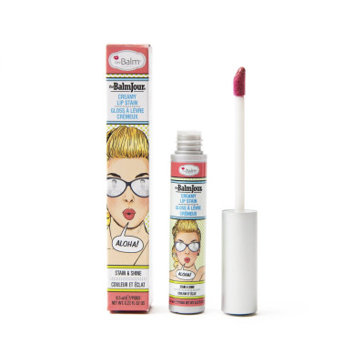 Блеск для Губ theBalm THEBALMJOUR® Creamy Lip Stain - Aloha! 6.5 мл