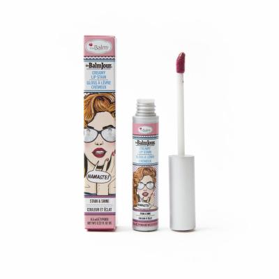 Блеск для Губ theBalm THEBALMJOUR® Creamy Lip Stain - Namaste! 6.5 мл